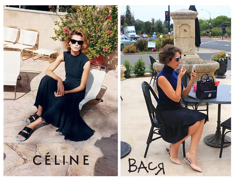 Collage Celine and Vasya