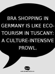 An Entirely Politically Incorrect Take On Bra Shopping