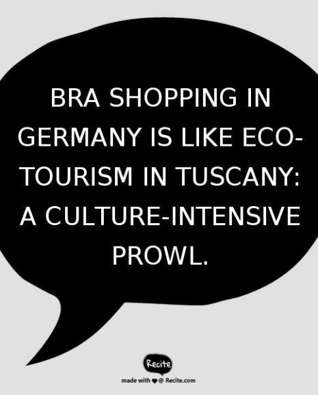 An Entirely Politically Incorrect Take On Bra Shopping