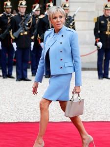 Brigitte Macron. The Z-type Beauty